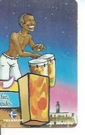 TELEMAR 30 - BAHIA O MELHOR CARNAVAL DO MUNDO   - BRESIL 02/2001  ( PUZZLE ) - Brésil