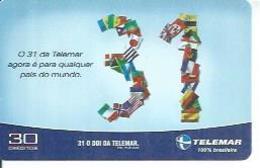 TELEMAR 30 - O 31 DE TELEMAR   - BRESIL 08/2002 - Brésil