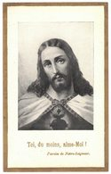 TOI DU MOINS AIME MOI INVOCATIONS AU SACRE COEUR IMAGE PIEUSE RELIGIEUSE RELIGIEUX HOLY CARD SANTINI PRENTJE - Andachtsbilder