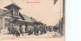 CPA LES COLS DES VOSGES - Au Col De La Schlucht - Le Tramway De Munster Au Col De La Schlucht - Avant La Guerre 14/15 - Andere Gemeenten