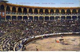 ESPAGNE  BARCELONE  Arenas- Corrida De Toros   ..... - Barcelona