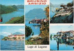 Svizzera - Canton Ticino - Lago Di Lugano - Brusino Arsizio - Vedutine - Fg - TI Tessin