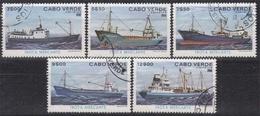 Kap Verde MiNr. 431/36 O Frachtschiffe - Kap Verde