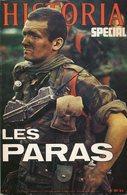 Historia Spécial Les Pars Parachutistes 1979 Guerre D'Algérie, Indochine, France Libre... - Francese