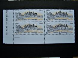FRANCE** 2019 N° 5331 CHATEAU DE CHAMBORD COIN DATE DU 02.05.19 - 2010-....