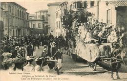 Avignon * Cavalcade De Charité * Char De Pétrarque Et Laure * Par Le Comité * Défilé - Avignon