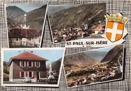 38-SAINT-PAUL-SUR-ISERE- MULTIVUES - Altri Comuni