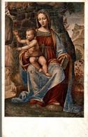 CERTOSA DI PAVIA B. LUINI  LA VERGINE COL BAMBINO  AFFRESCO SUL LAVABO - Paintings