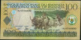 RWANDA - 100 Francs 01.09.2003 {with Bank Title In English} UNC P.29 B - Ruanda