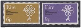 Ireland 1970 European Nature 2v ** Mnh (44116M) - Europese Gedachte