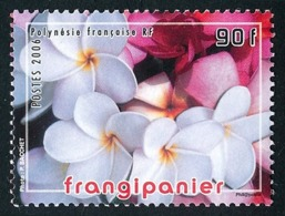 POLYNESIE 2006 - Yv. 775 **   Faciale= 0,76 EUR - Fleur De Frangipanier  ..Réf.POL24217 - Französisch-Polynesien