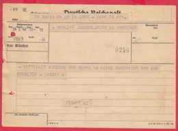 247258 / Telegram Telegramme Telegramm 1942 Deutsche Reichspost , München Munich - SOFIA BULGARIA , Germany Deutschland - Allemagne