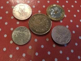 Lot De Pièces Voir Le Scan - Munten & Bankbiljetten
