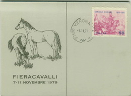 VERONA - FIERACAVALLI 7-11 NOVEMBRE 1979 (3476) - Verona