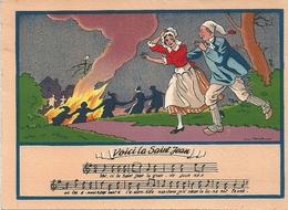 """Editions Barré Dayez Serie Chants Populaires """"Voici La Saint Jean""""  1949 1479 D - Otros Ilustradores"""