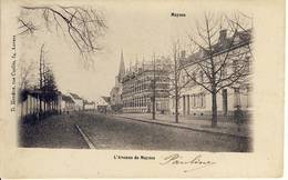 Meysse Meise L'Avenue De Meysse Sterstempel 1908 - Meise