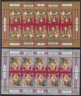 Latvia 2 Mint Stamps Minisheets - Europa 1995 - Letland