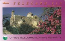 Cyprus, 22CYPC,  £10, Panagia Angeloktisti, Kiti, 2 Scans - Cyprus