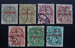 B3141 - Morocco - 1902-1910 - SC. 11-12-13-15 - Marokko (1891-1956)