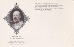 AL70  Royalty - Edward VII, Rex Et Imperator - Royal Families