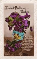 AL70  Birthday Greeting - Vase With Flowers - Birthday