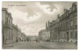 Arlon - Route De Bastogne - Circulée En 1919 - Edit. Mercelis & Cie -  2 Scans - Arlon