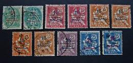 B3144 - Morocco - 1914-1921 - SC. 41-42-43-45-46 - Marokko (1891-1956)