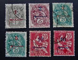 B3145 - Morocco - 1911-1917 - SC. 26-27-29-30 - Marokko (1891-1956)
