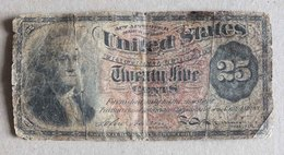 ANCIEN BILLET USA - 25 CENTS - MARS - MARCH 1863 - Etats-Unis