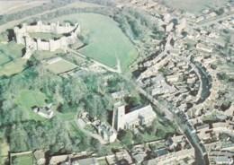 AL74 Framlingham, Suffolk - Aerial View Inc. Castle - Inghilterra