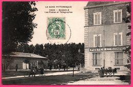 Bagnols Sur Cèze - Cèse - Les PTT - Les Postes Et Télégraphes - Ecoliers - Animée - Edit. C. ARTIGE Fils - 1907 - Bagnols-sur-Cèze