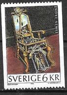 Suède 1996 1950 Neuf Chaise Baroque - Sweden