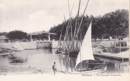 AO92 Ismailia, The Flood Gate Downwards - Fishing Boats - Ismailia