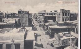 AO92 Port Said, Ruelle Au Village Arabe - Animated, Undivided Back - Port Said