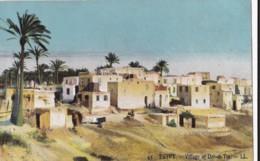 AO92 Egypt, Village Of Der El Tin - LL Postcard - Egypt