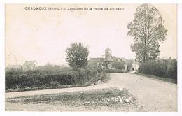 Chalmoux - Jonction De La Route De Chizeuil. - Francia