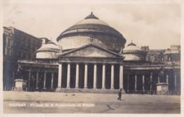 AQ56 Napoli, Chiesa Di S. Francesco Di Paola - RPPC - Napoli (Naples)
