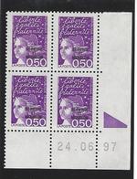 Coin Daté 24.06.97. Marianne De Luquet 0.50fr Surchargé Saint Pierre Et Miquelon - St.Pierre & Miquelon