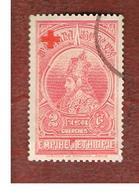 ETIOPIA (ETHIOPIA) -  SG 314 -  1936 H. SELASSIE OVERPRINTED WITH RED CROSS  - USED ° - Etiopia