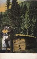 AL11 Romance - Couple Chatting By A Hut - Couples