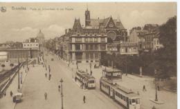 Brussel - Bruxelles - Porte De Schaerbeek Et Rue Royale - Ern. Thill Serie 20 No 36 - 1931 - Avenues, Boulevards
