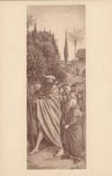 AS79 Art Postcard - The Holy Pilgrims By Hubert And Jan Van Eyck - Paintings
