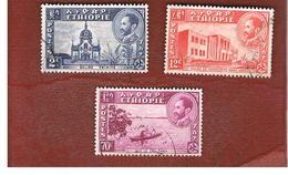 ETIOPIA (ETHIOPIA) -  SG 367.374 -  1947  VIEWS  - USED ° - Etiopia