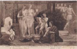 AS79 Art Postcard - La Fresque De Puvis De Chavannes, Detail 2 - Paintings