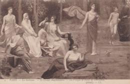 AS79 Art Postcard - La Fresque De Puvis De Chavannes, Detail 4 - Paintings