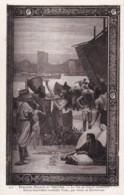 AS79 Art Postcard - Peintures Murales Du Pantheon, La Vie De Sainte Genevieve - Paintings