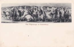 AS79 Art Postcard - The Pilgrimage To Canterbury - Paintings