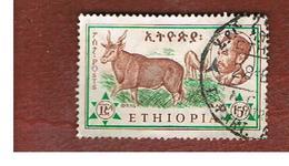 ETIOPIA (ETHIOPIA) -  SG 518 -  1961  ANIMALS: COMMON ELAND - USED ° - Etiopia