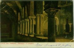 CAVA DEI TIRRENI - ABBAZIA - IL CHIOSTRO - 1900s (3483) - Cava De' Tirreni