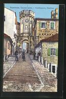AK Castelnuovo, Strassenpartie Am Stadttor - Montenegro